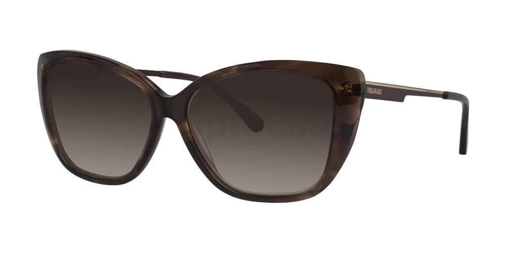Brown V442 Sunglasses, Vera Wang