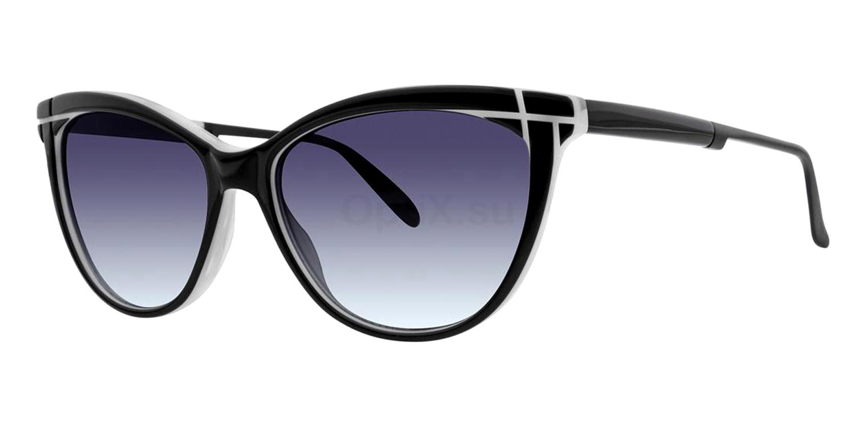 Black V467 Sunglasses, Vera Wang