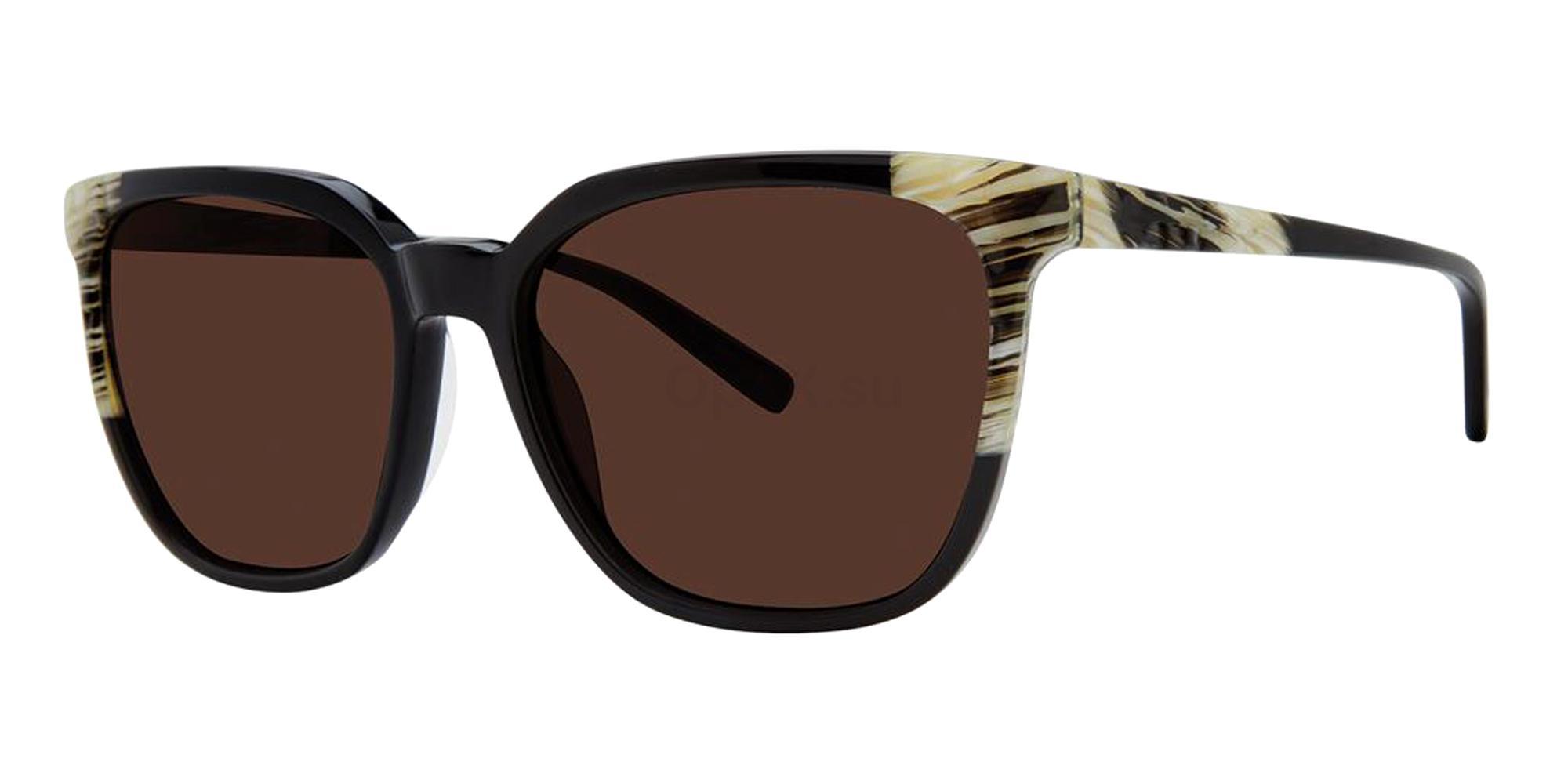 Black Horn V477 Sunglasses, Vera Wang