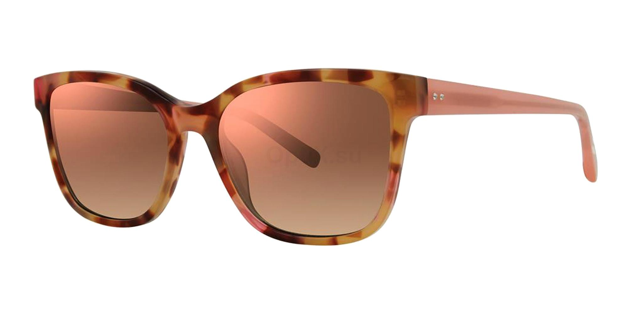 Blush Tortoise V479 Sunglasses, Vera Wang