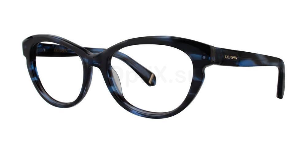 Blue AMIRA Glasses, Zac Posen