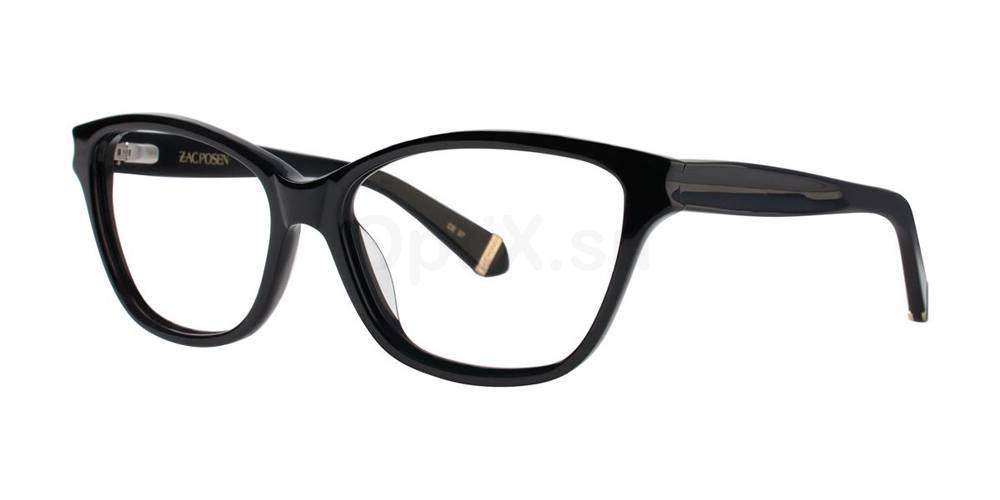 Black GELSEY Glasses, Zac Posen