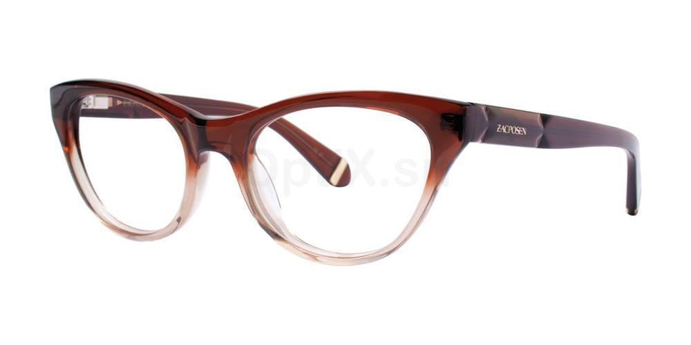 Brown GLORIA Glasses, Zac Posen