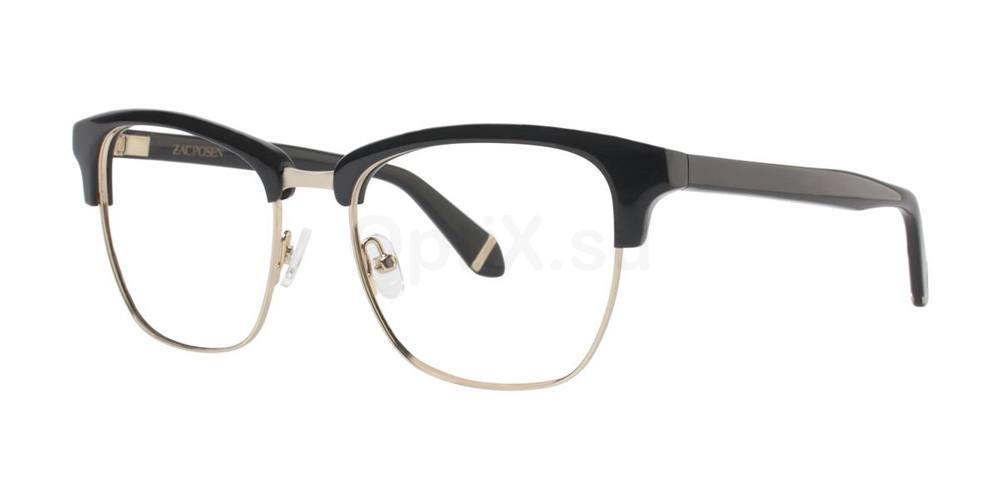 Black MASHA Glasses, Zac Posen