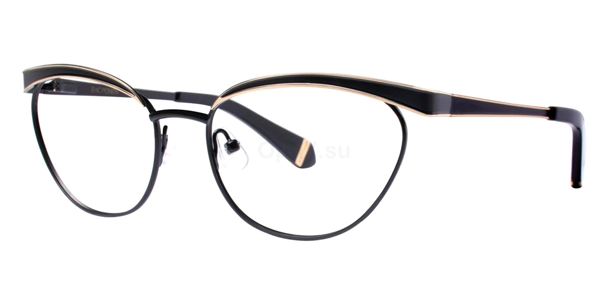 Black MOYRA Glasses, Zac Posen