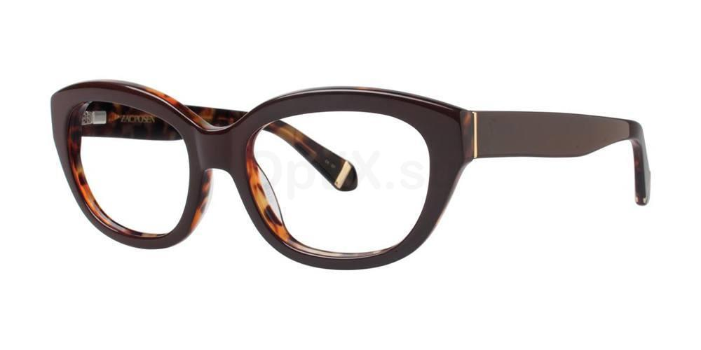 Brown KATHARINE Glasses, Zac Posen