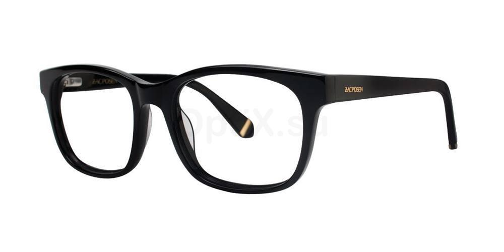 Black ZORA Glasses, Zac Posen