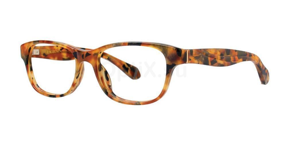 Amber Tortoise ANNABELLA Glasses, Zac Posen