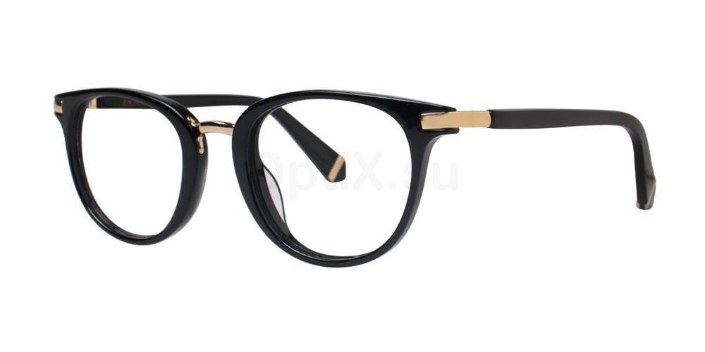 Black DAYLE Glasses, Zac Posen