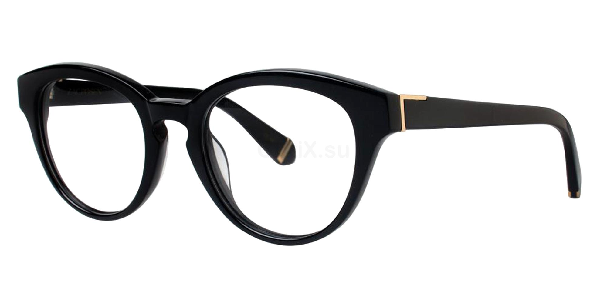 Black LOIS Glasses, Zac Posen