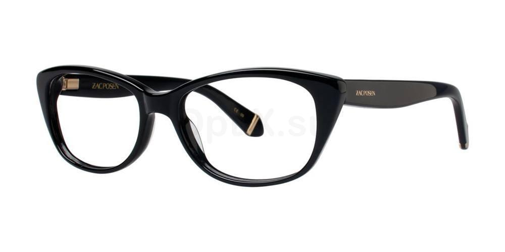 Black MELINA Glasses, Zac Posen