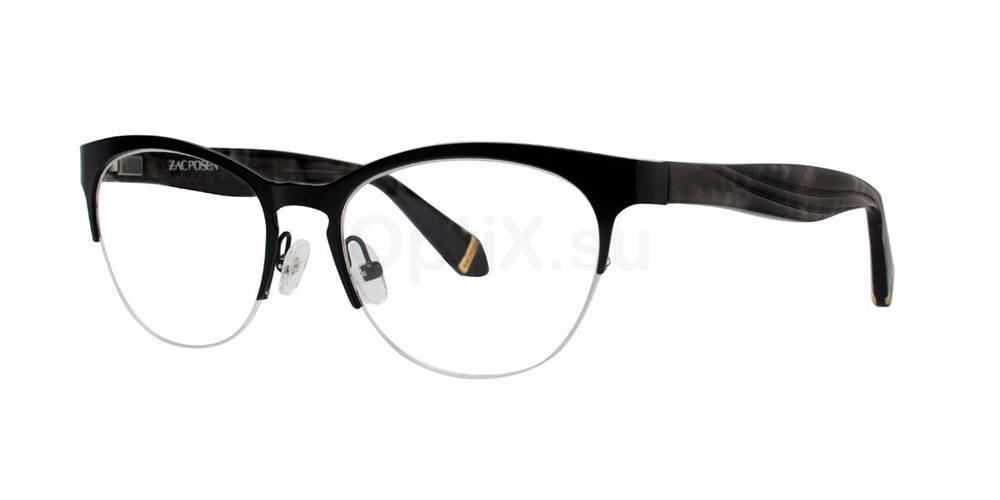 Black OLGA Glasses, Zac Posen