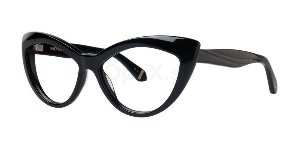 Black VERUSHKA Glasses, Zac Posen