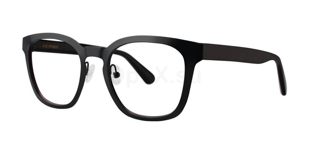 Black TOMMASO Glasses, Zac Posen