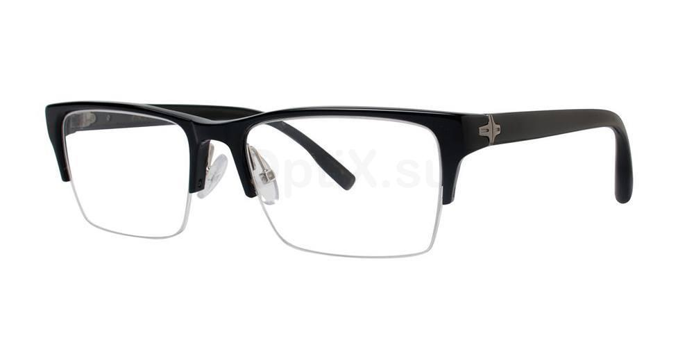 Black PROFESSOR Glasses, Zac Posen