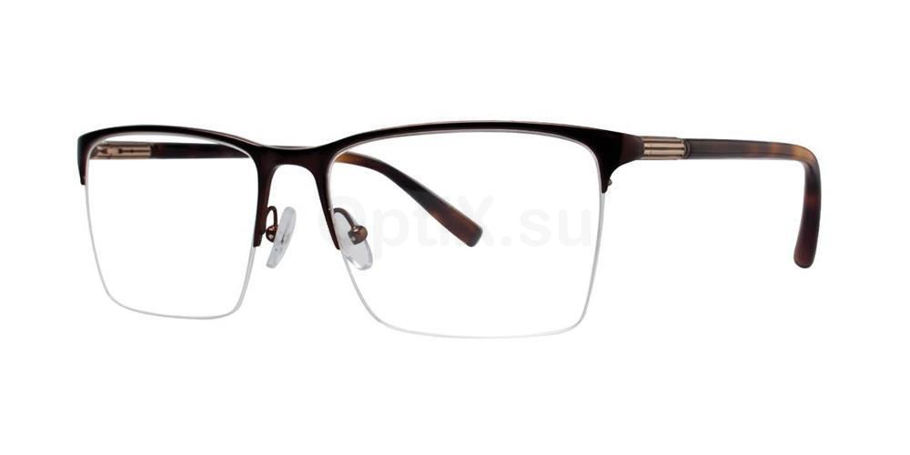 Brown ICON Glasses, Zac Posen
