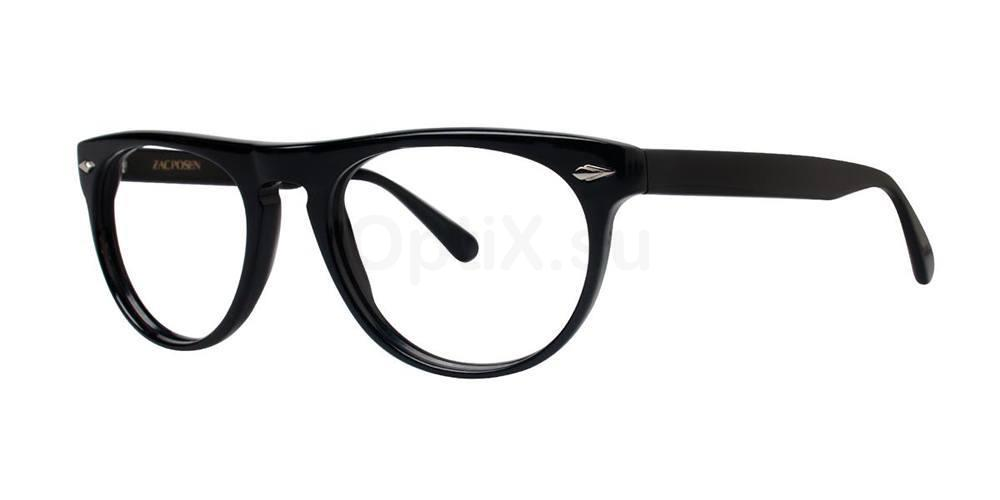 Black IDEALIST Glasses, Zac Posen