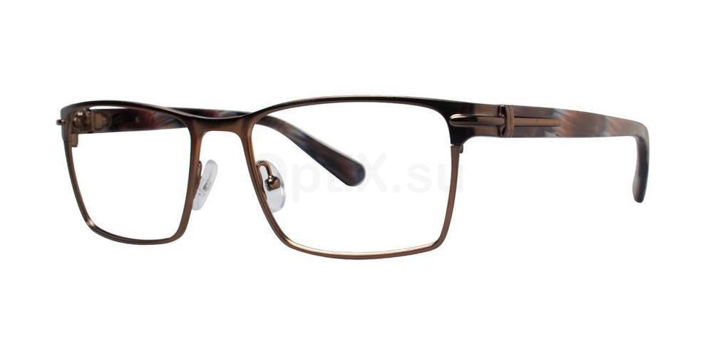 Brown PRODUCER Glasses, Zac Posen