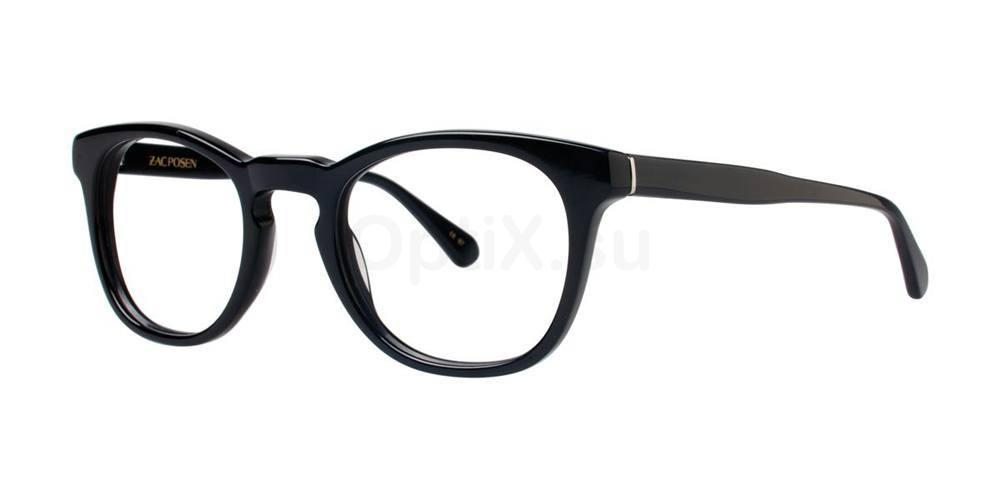 Black DIRECTOR Glasses, Zac Posen