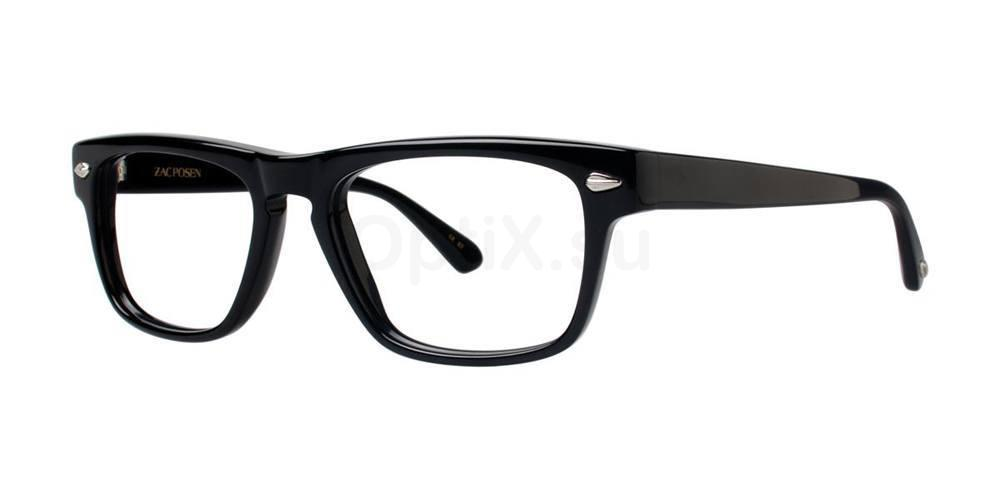 Black GENT Glasses, Zac Posen