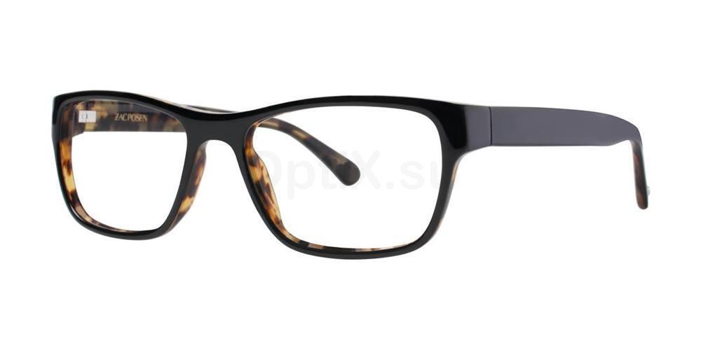 Black JARROD Glasses, Zac Posen