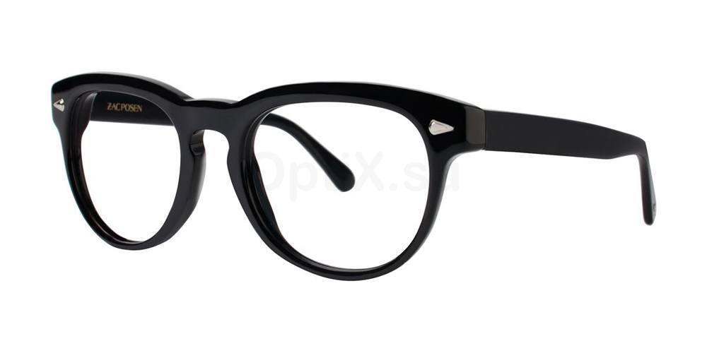 Black SERGE Glasses, Zac Posen