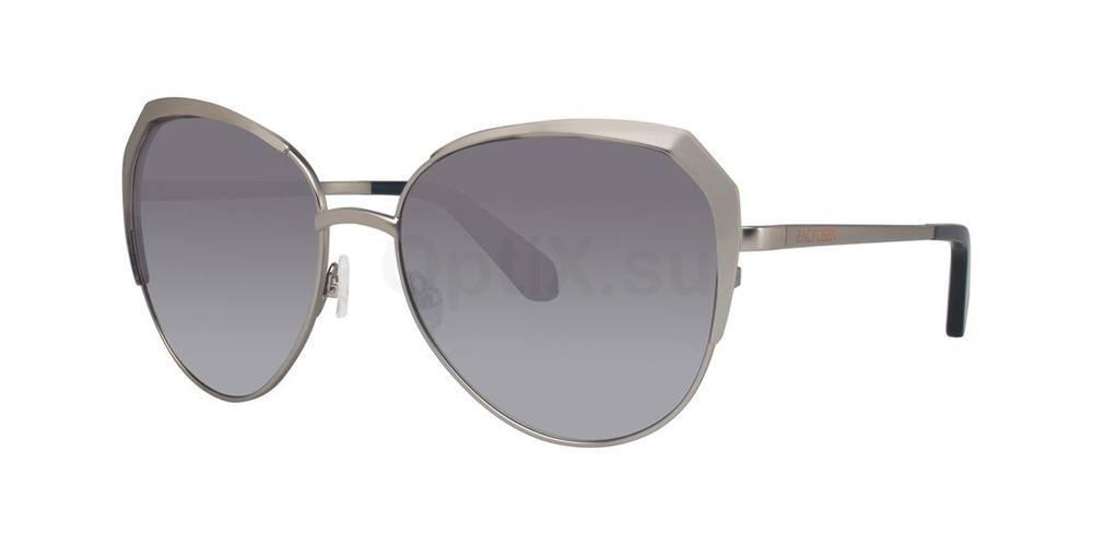 Silver ISSA Sunglasses, Zac Posen