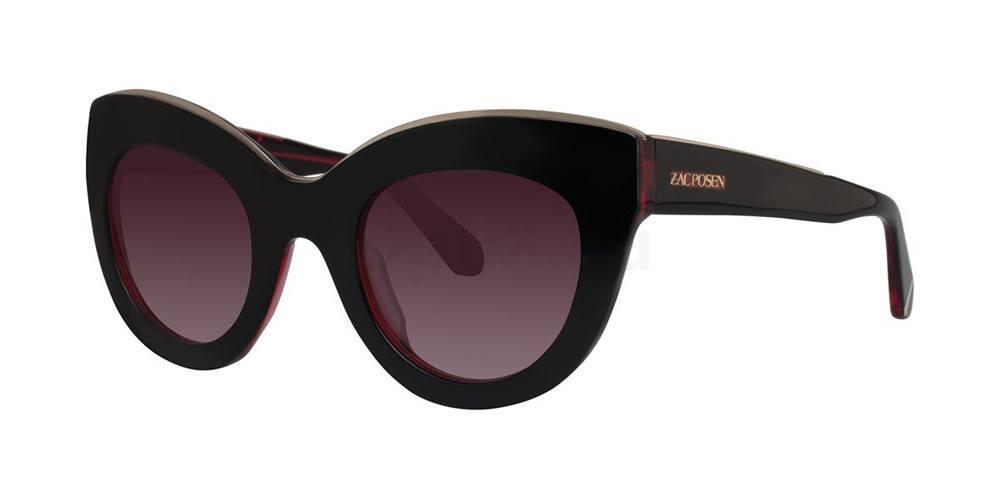 Black Cherry JACQUELINE Sunglasses, Zac Posen