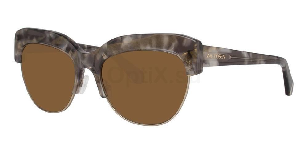 Golden Tortoise KOUKA Sunglasses, Zac Posen