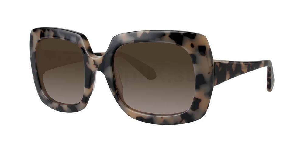 Osaka Tortoise MOUNIA Sunglasses, Zac Posen