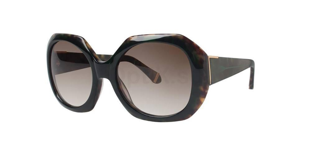 Green INGRID Sunglasses, Zac Posen