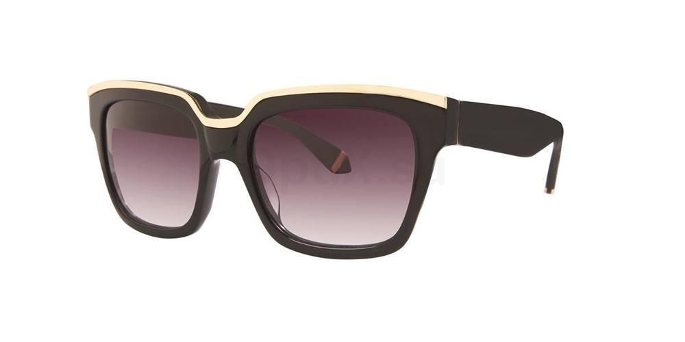 Black NICO Sunglasses, Zac Posen