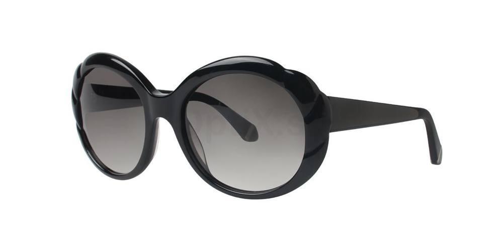 Black RITA Sunglasses, Zac Posen