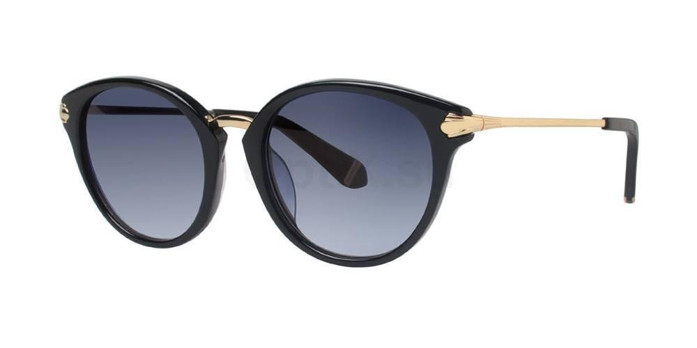 Black BIBI Sunglasses, Zac Posen