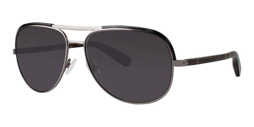 Olive Tortoise THEO Sunglasses, Zac Posen