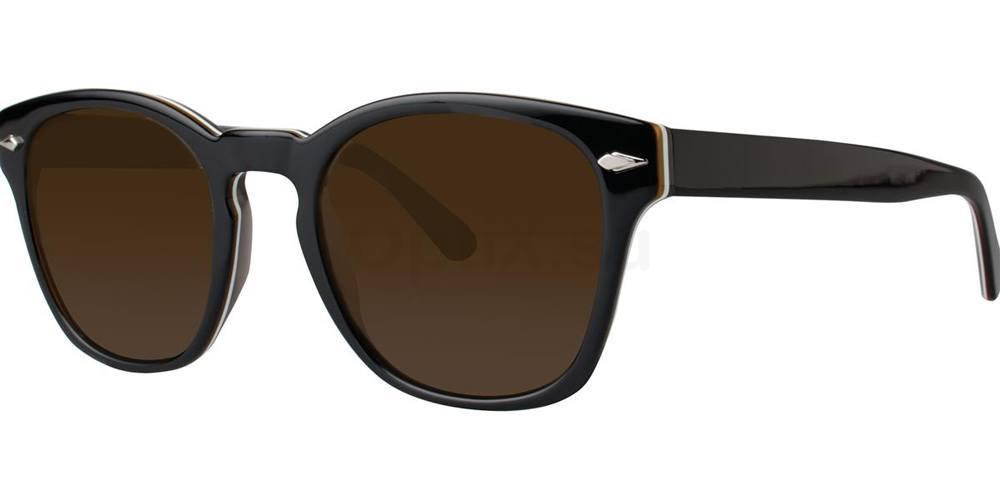 Black GUERRINO Sunglasses, Zac Posen