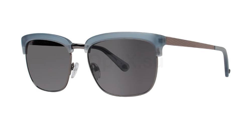 Matte Blue GABLE Sunglasses, Zac Posen