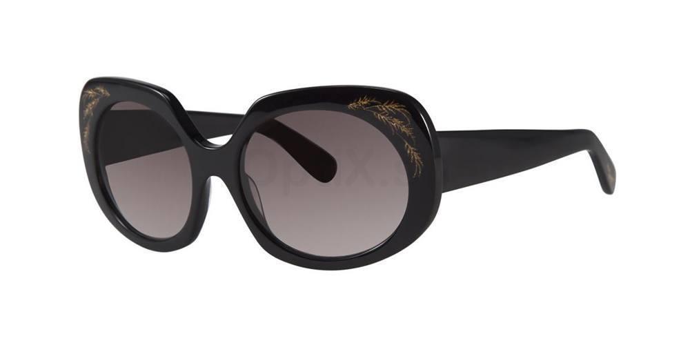 Black DOVIMA Sunglasses, Zac Posen