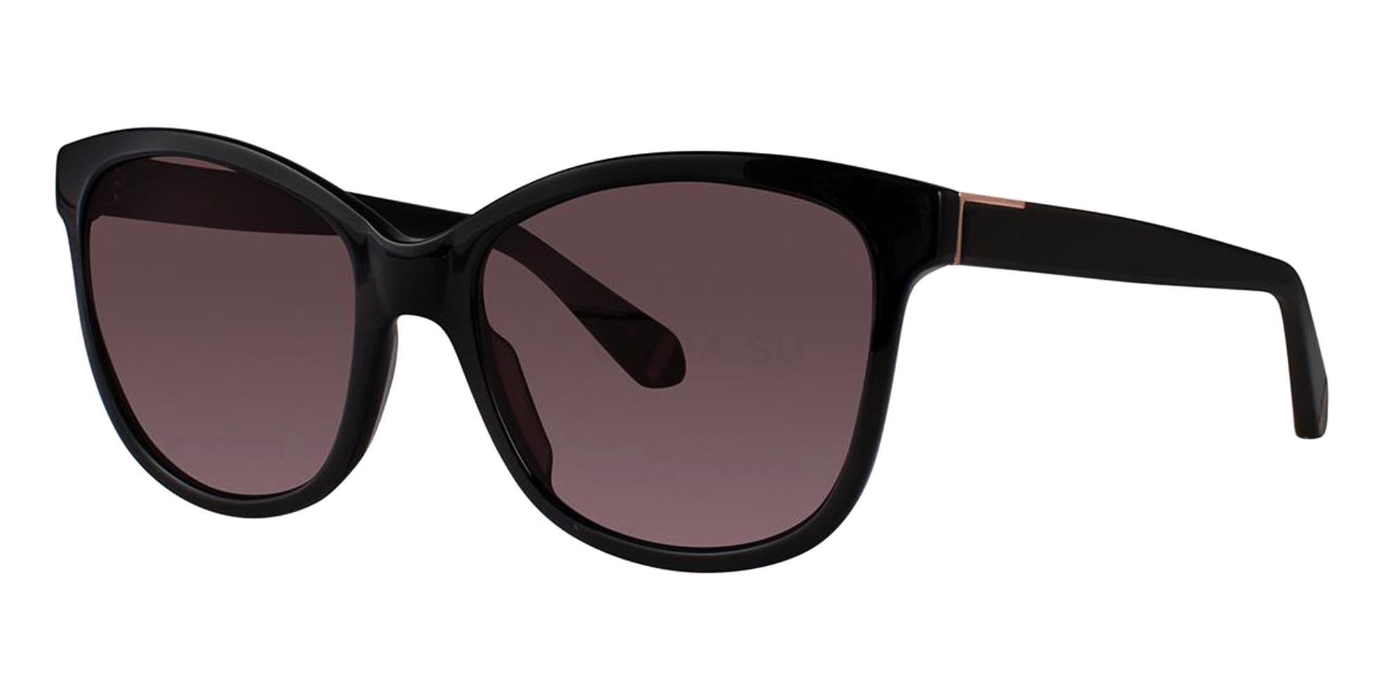Black ELOYSE Sunglasses, Zac Posen