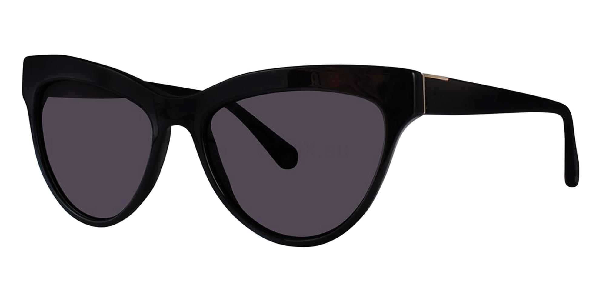 Black FARROW Sunglasses, Zac Posen