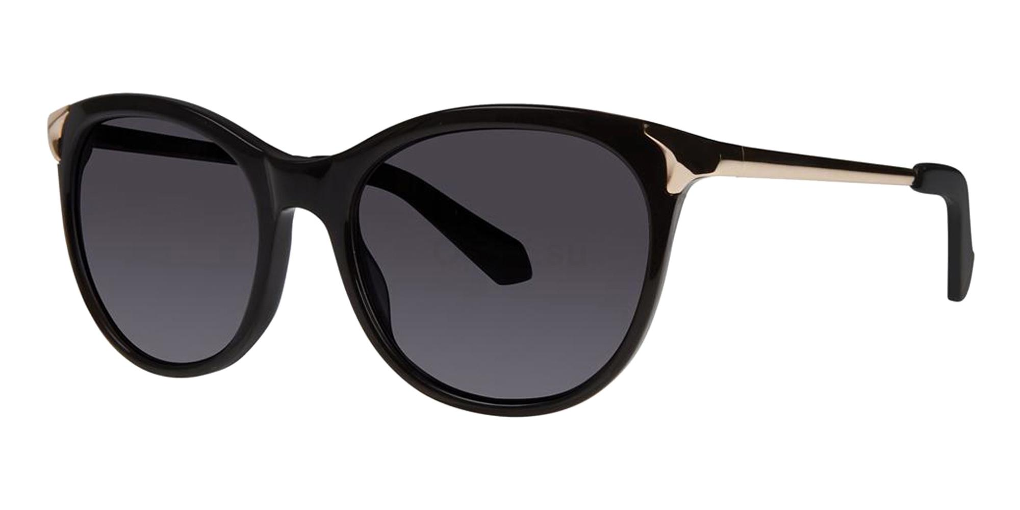 Black JOHANNA Sunglasses, Zac Posen