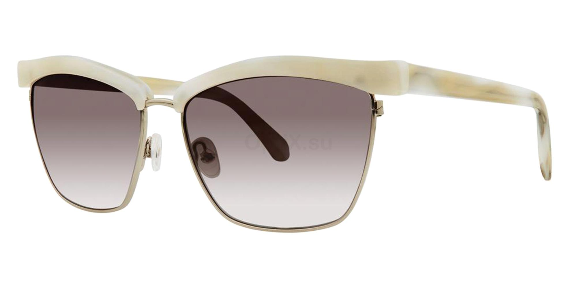 Pearl Horn LAVETTE Sunglasses, Zac Posen