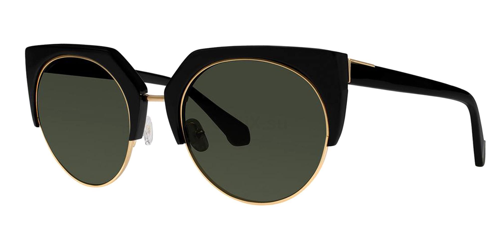Black NAOMI Sunglasses, Zac Posen