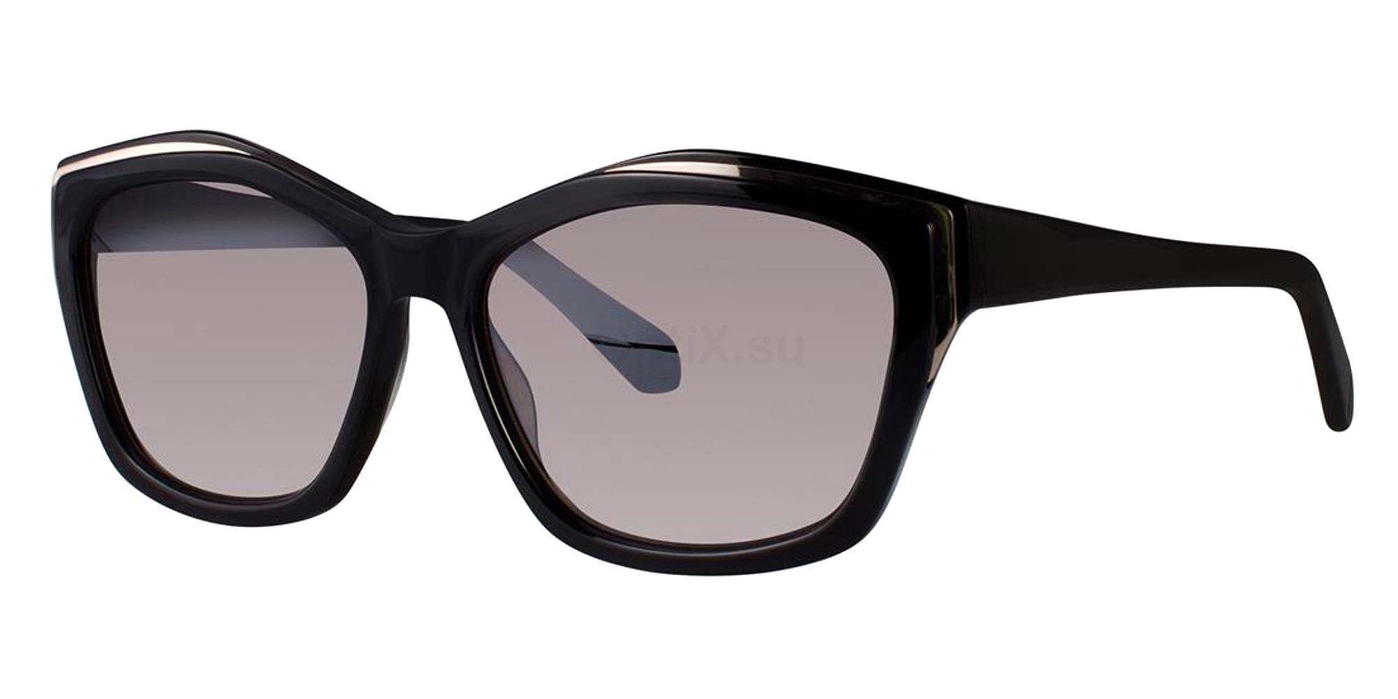 Black RUTHIE Sunglasses, Zac Posen