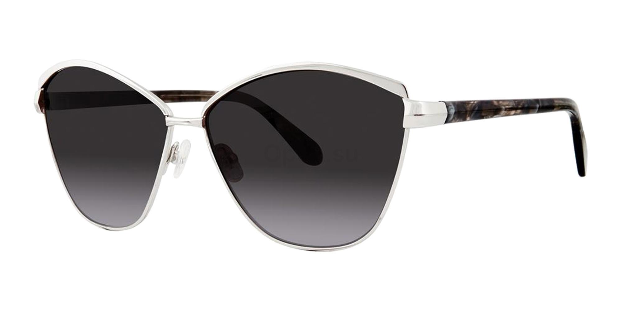 Silver VANINA Sunglasses, Zac Posen