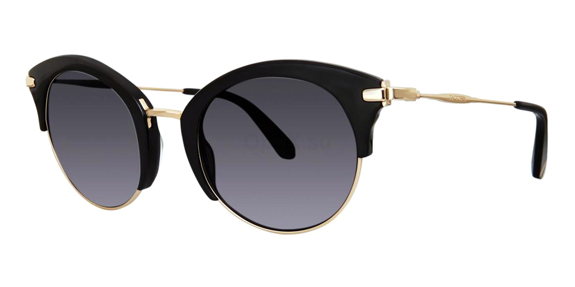 Black ZADIE Sunglasses, Zac Posen