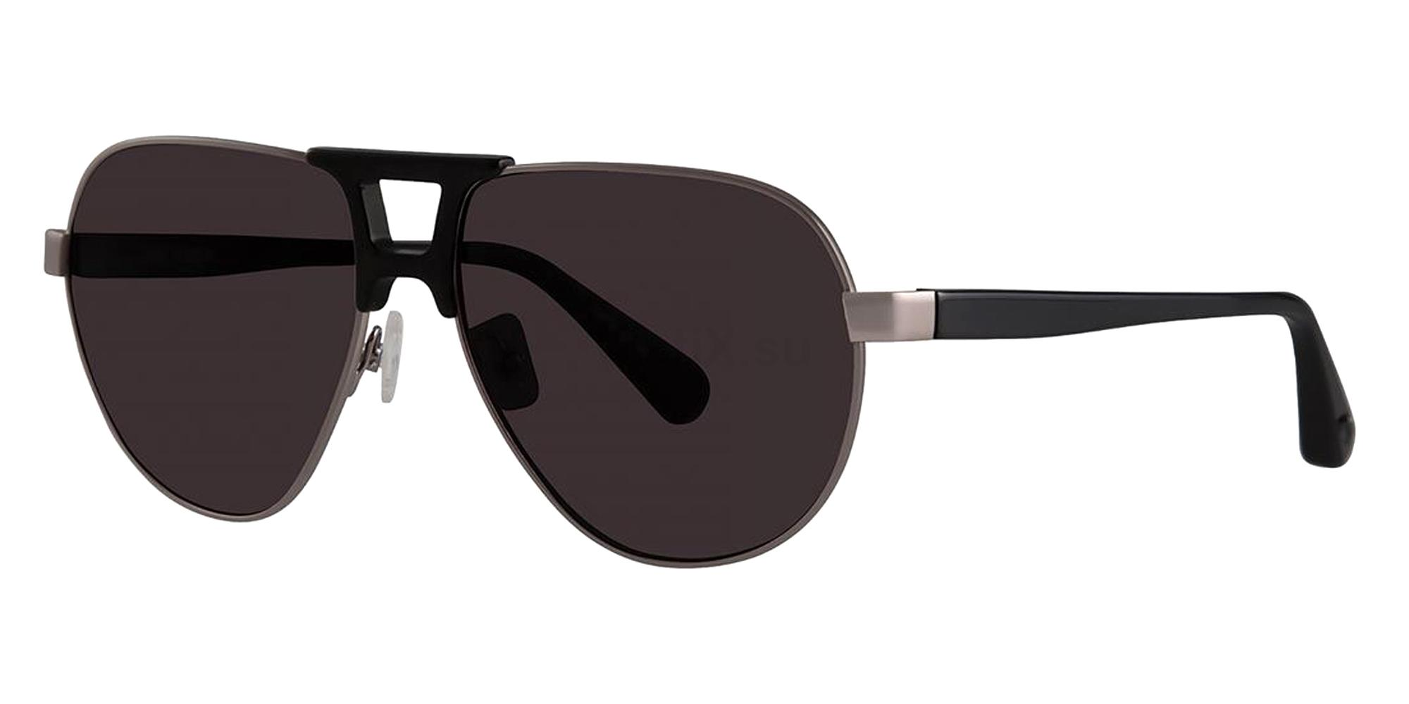Black ARROH Sunglasses, Zac Posen