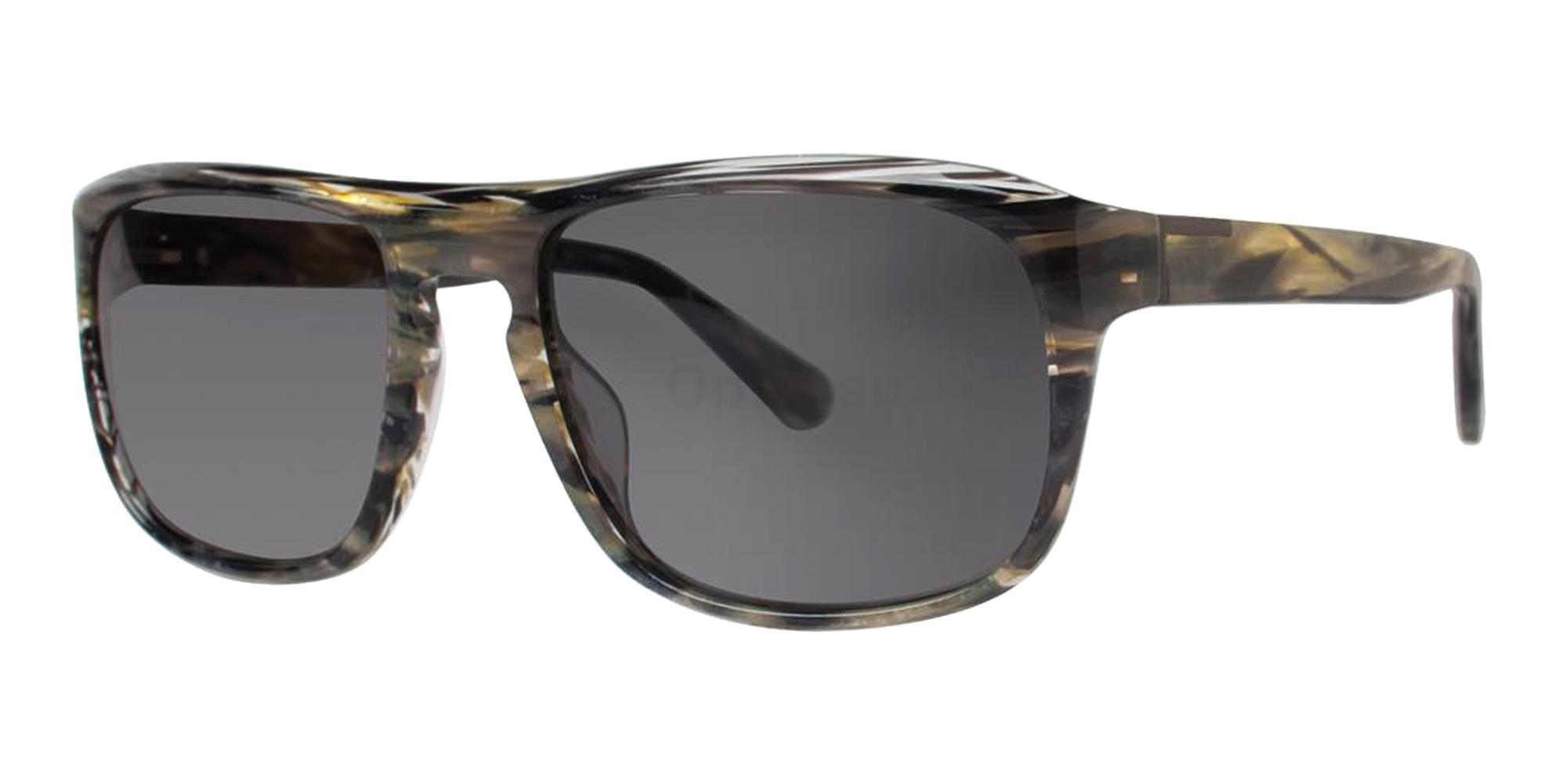Green Horn CAIN Sunglasses, Zac Posen