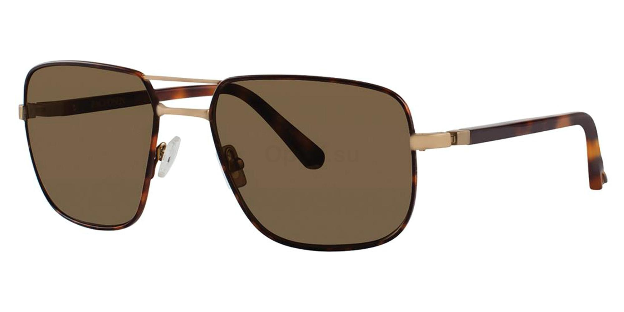 Blonde Tortoise CLEMENT Sunglasses, Zac Posen