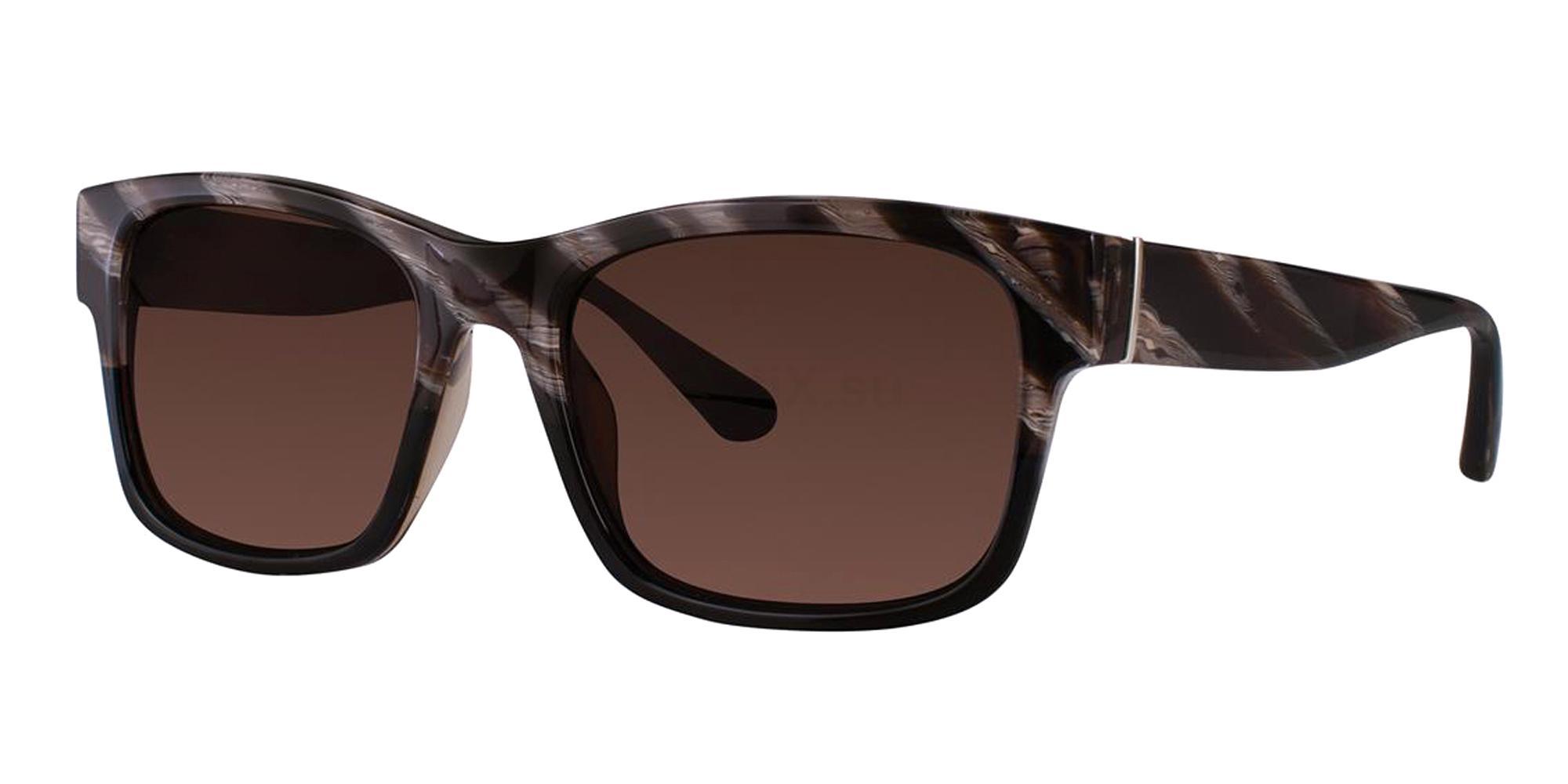 Black Horn CULVER Sunglasses, Zac Posen